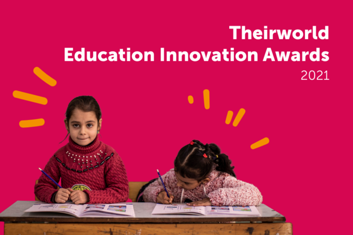 High five! Winners of Theirworld Education Innovation Awards 2021 have bold and inspiring ideas to deliver education