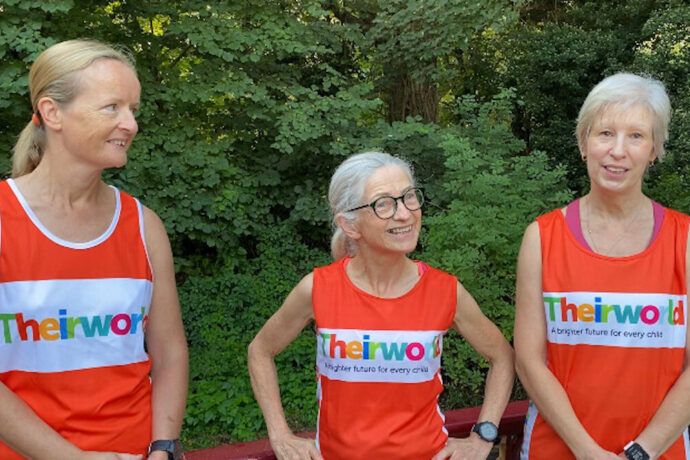 """""""It was worth all the pain!"""" Friends run the London Marathon to raise funds for Theirworld"""