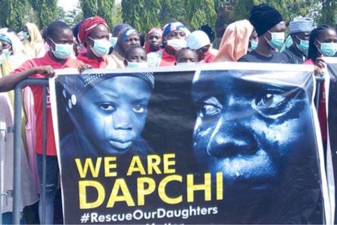We'll negotiate for release of 110 abducted schoolgirls says Nigerian president