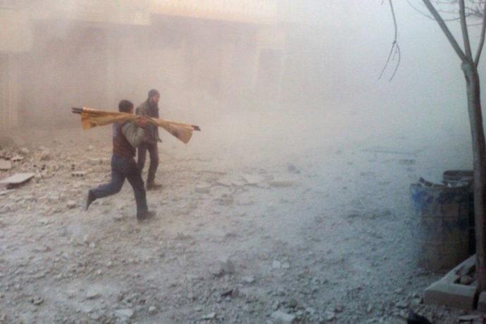 Air strike kills 15 Syrian children sheltering in Eastern Ghouta school