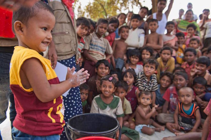 Safe spaces help young Rohingya refugee children recover from trauma
