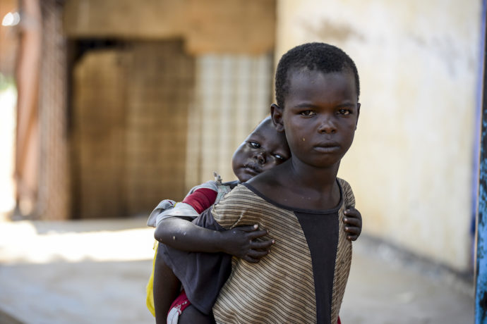 Conflict and hunger pushes South Sudanese children into work and on the streets