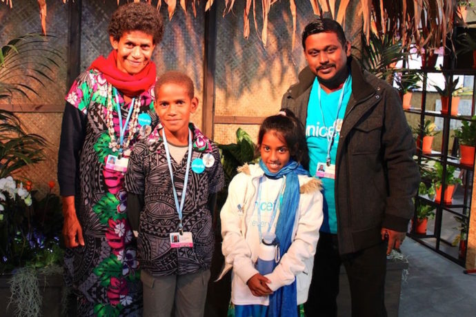 'Climate change steals and destroys': Fijian children urge world leaders to protect their schools and lives