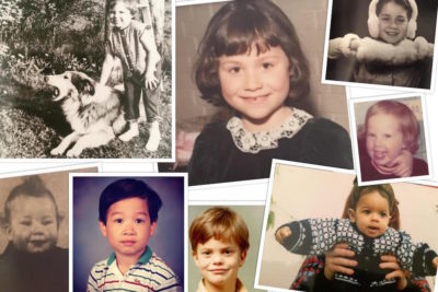 Can you name celebrities who shared their childhood pictures for our #5for5 campaign?