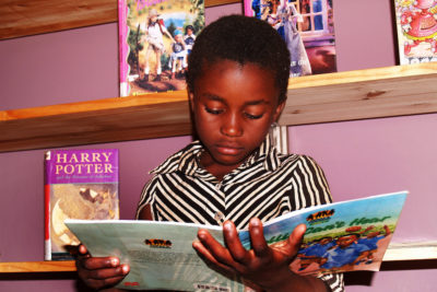 Harry Potter and the magic of books for children living in conflict and poverty