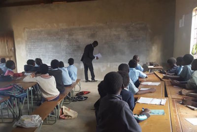 Rural schoolchildren benefit from teachers trained to be community champions