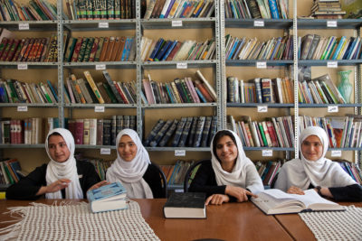 Two-thirds of Afghan girls are not at school - and millions have never been, says report