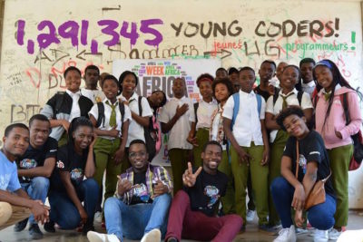 1.3m young people learned digital skills during Africa Code Week