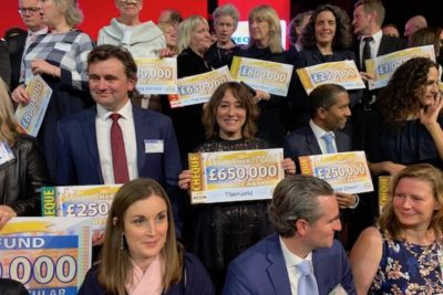 Theirworld receives £650,000 from People's Postcode Lottery UK