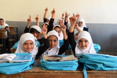 Education is top global development priority for Dutch people, Theirworld poll shows