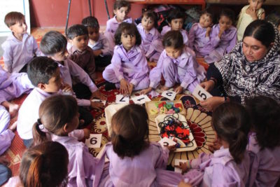 Helping more rural Pakistani children get access to early education