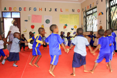 Funding for under-fives in Tanzania will help more children into preschools