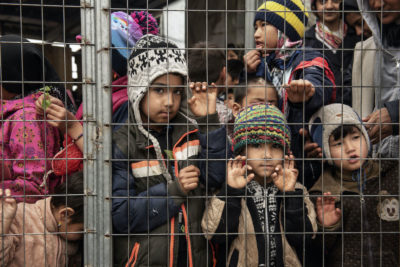Schools shutdown adds to misery for children trapped in Greek islands refugee camps