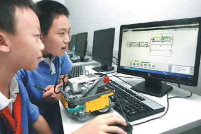 Chinese teacher who's helping 30,000 children learn computer coding skills