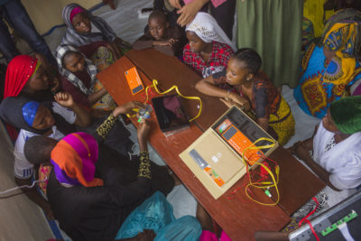Theirworld and Voith join forces to launch Code Clubs for 720 girls in Tanzania
