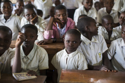 Helping 500,000 primary children to get a better education in DRC