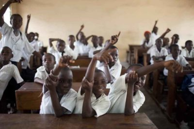 Back to school - but classes are empty because of Ebola fears in DRC