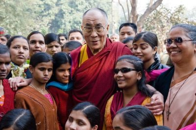 'Love through education' can help to change the world says Dalai Lama