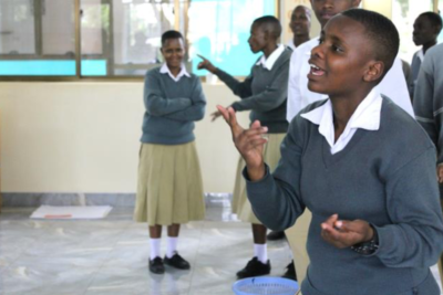 Giving deaf children the support they need to get into school and succeed