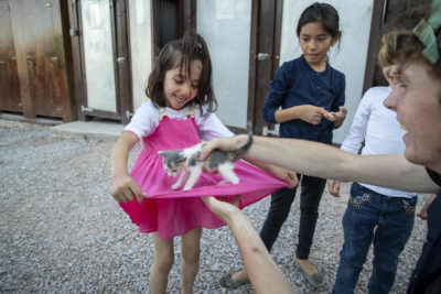 As 70m flee conflict and oppression, Theirworld brings hope to refugee children on Greek islands