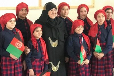 Afghan teacher who set up secret schools for girls wins World Citizen Award