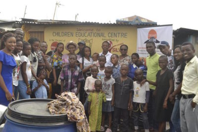 """We set up a low-income school in a Nigerian slum so that every child will have access to quality education"""