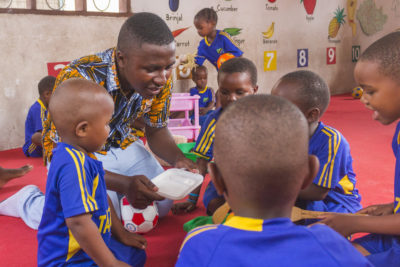 Just 1% of early childhood development aid goes to pre-primary education