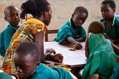 Teacher training delivers quality early years learning for children in Ghana