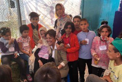 Refugee children stranded on Greek islands need urgent education aid
