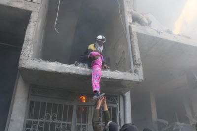 Children bombed and starved, schools attacked in horrific siege of Eastern Ghouta