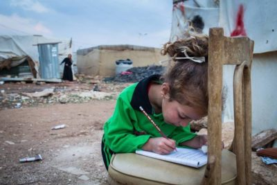 Education for 95,000 marginalised Syrian children in camps and conflict zones