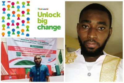 Meet Emmanuel Sani, our Global Youth Ambassador of the Year