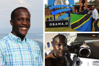 Mandela Day: Barack Obama pays tribute to young leaders like Enock