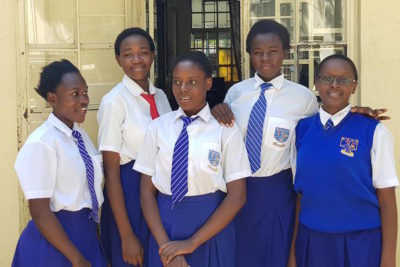 Kenyan schoolgirls heading to Google HQ after developing FGM app