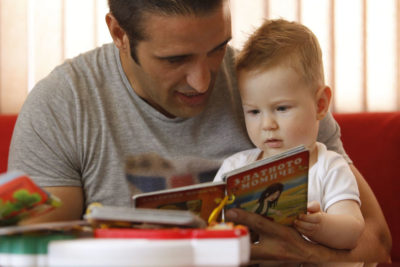 How fathers can play a vital role in helping their young children to develop