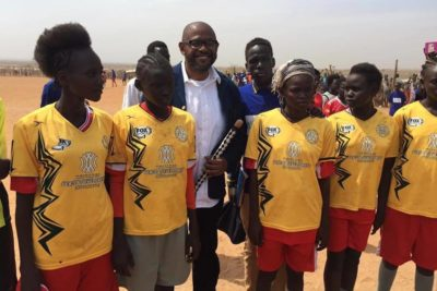 Actor Forest Whitaker helps South Sudanese youth to shape their future