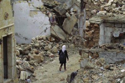 Nine children walking to school in Afghanistan are killed by landmine