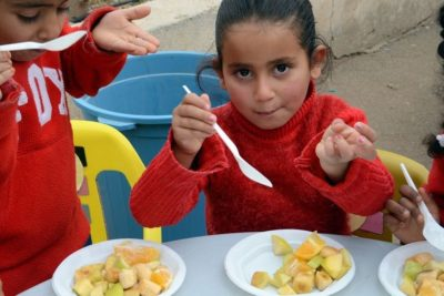 Recipe for success: Gaza preschools combine healthy eating and learning