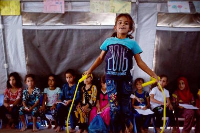 Protection is crucial for young children to survive the trauma of conflict