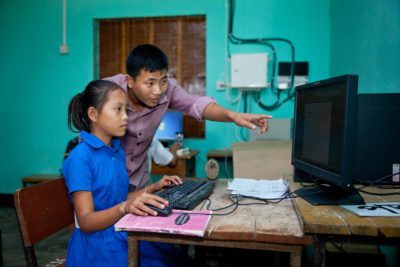 Technology giants to support education of marginalised children