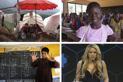 Global education in 2017: the good, the bad and the champions for children