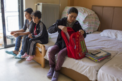 As hotels open for tourists on the Greek islands, books should open for children