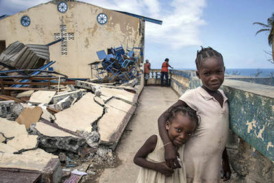 Haiti's children at risk of trafficking and exploitation after hurricane