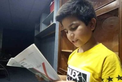 The 'little teacher': boy aged 11 whose motivational speeches give hope to poor students