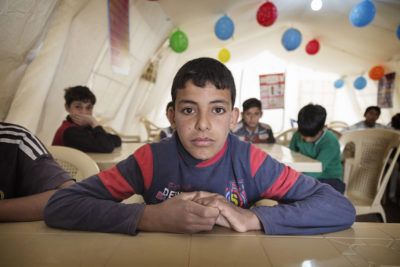 Traumatised Iraqi children hope to go back to school after nightmare of Islamic State rule