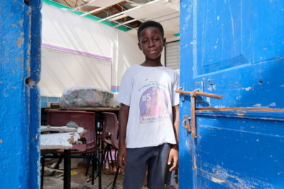 After Hurricane Irma: thousands of island children face long wait to go back to school