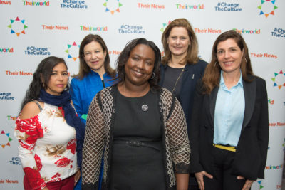 #ChangeTheCulture: Live blog from Theirworld's International Women's Day breakfast event