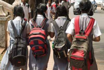 Heavy school bags are a health risk for Indian children