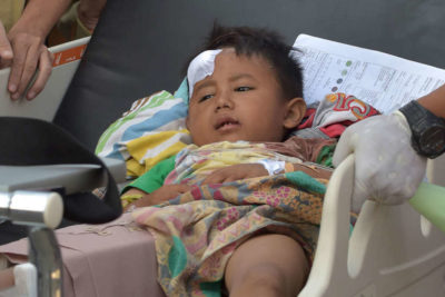Indonesia earthquake: school and support are crucial for traumatised children