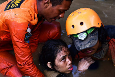 Hundreds of schools damaged and children traumatised by Indonesia's deadly earthquake and tsunami